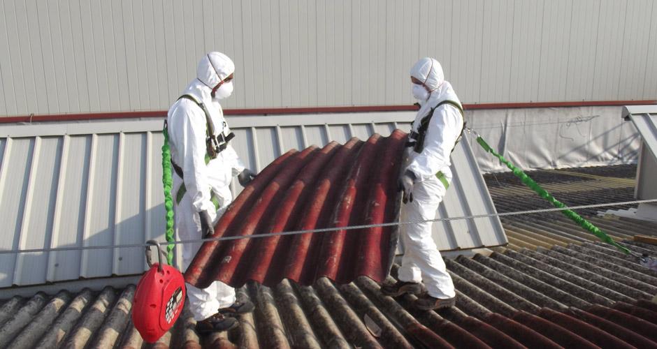 Rimozione  e smaltimento amianto