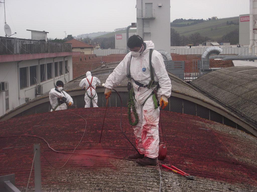 smaltimento amianto